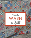 How To Wash A Handmade Quilt