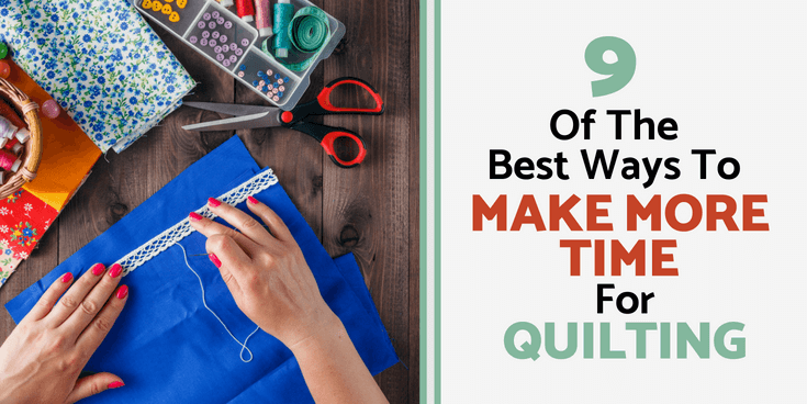 woman measuring quilt patches make time for quilting