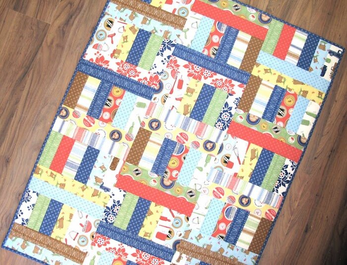 Bee in my bonnet website Jelly Roll Quilt Patterns