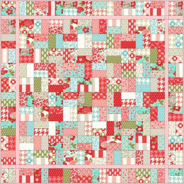 Christa quilts site Jelly Roll Quilt Patterns