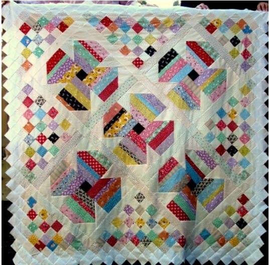 carter quilter site Jelly Roll Quilt Patterns