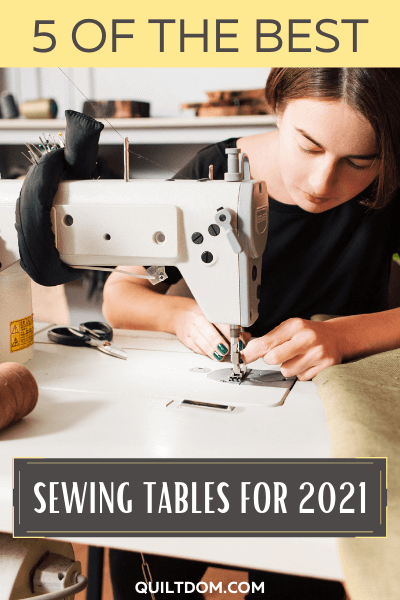 Struggling to find for the best sewing tables for your next quilt? We've done the research in this post. Here we listed out for you the best sewing tables for 2021.