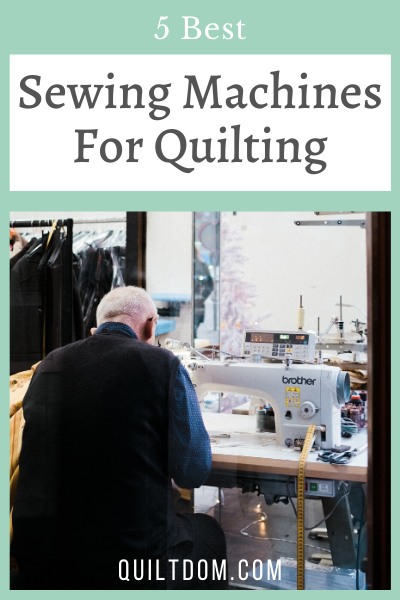 Looking for the best sewing machine for quilting? We've put together our review list of our 5 favorite quilting sewing machines.