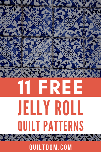 Do you love Jelly Roll quilt patterns as much as we do? We've put together a great list of free easy Jelly Roll quilt ideas for you.