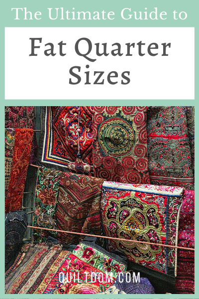 What are fat quarter sizes? Looking for fat quarter fabric bundles for your next quilt project? Are you wondering how to cut a fat quarter?