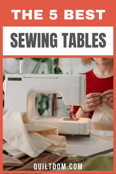 Struggling to find for the best sewing tables for your next quilt? We've done the research in this post. Here we listed out for you the best sewing tables for 2020.