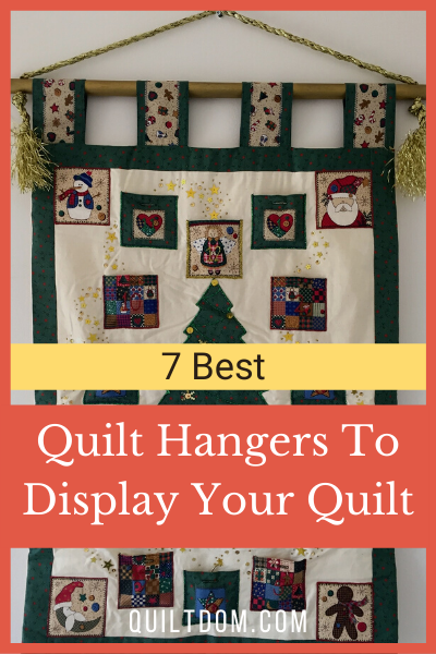 Quilt hangers are the appropriate hardware for proudly displaying your finest projects. They are designed to grip and hold fabric without causing damage.
