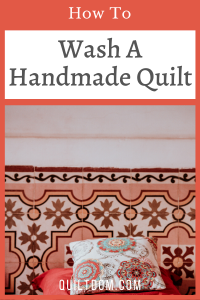 Are you looking for info on how to wash a quilt? Follow these quilt care instructions to protect your quilt from damage.