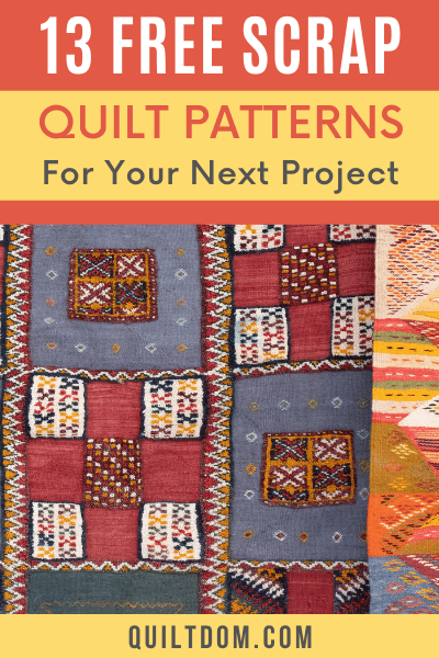 Thinking of where to use the scraps of your previous quilting projects? Use them into your next quilting project. Here are some patterns for your scraps.