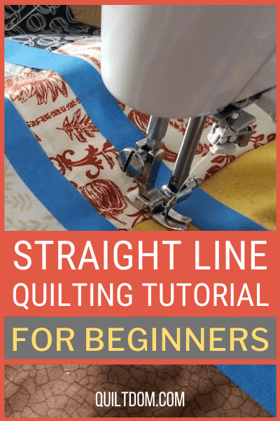 Learn all about straight line quilting with our step-by-step tutorial for beginning quilters. You'll see exactly how to create perfect lines for your quilt.