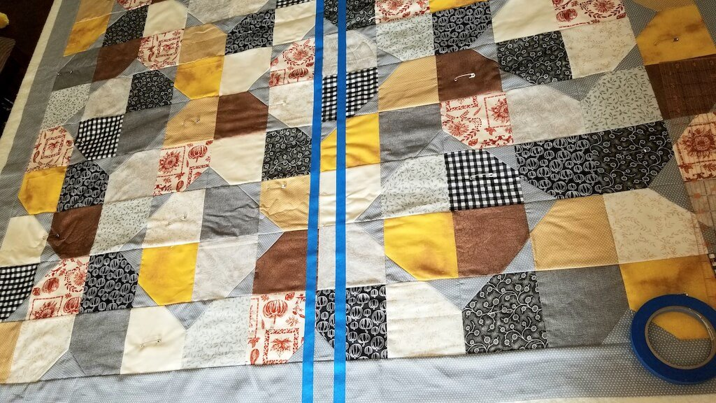 quilt image straight line quilting