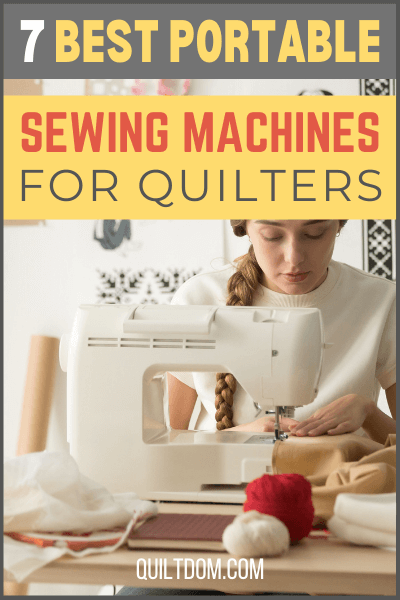 Sometimes, you want to bring your quilting projects on your vacations and a sewing machine is a must! Check out our collection of portable sewing machines.