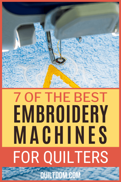 As a quilter, an embroidery machine would be an excellent investment. It's perfect for creating custom labels for your quilts.. Check out the best Embroidery Machines for Quilters on this post.