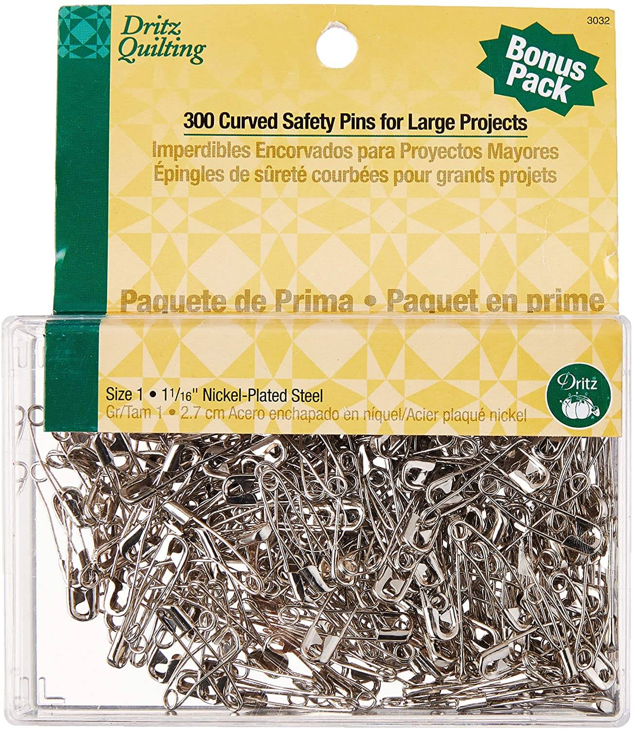 Curved Safety Pins For Quilting 3