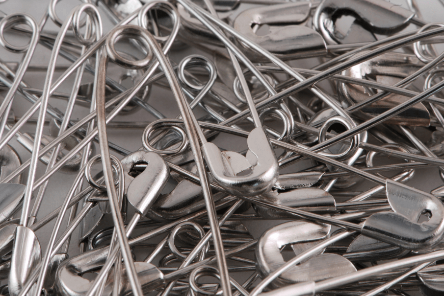 Curved Safety Pins For Quilting FI