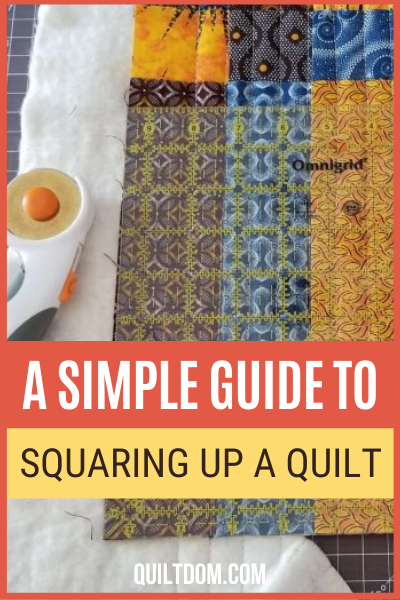 Keeping your blocks square will also help your overall quilt top be neat and straight. Check this post and learn all my quilt squaring tips in this post.