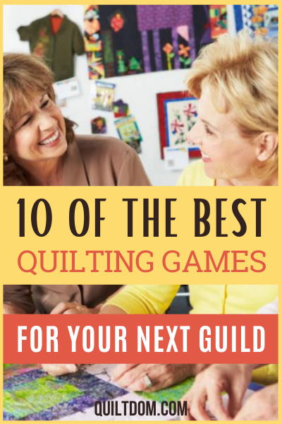 Need some fun quilting game ideas for your next quilting guild or quilting retreat? Check our list of some of the best quilting games.