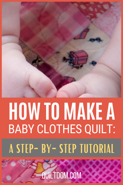 Baby clothes quilt is merely making a quilt out of baby clothes. Learn from this tutorial to create sweet memories from making your baby clothes quilt.