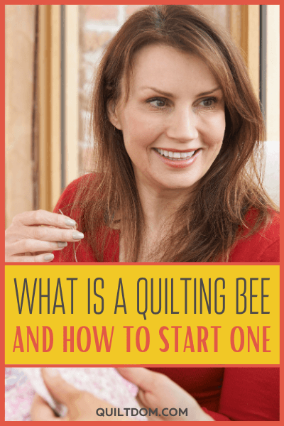 Quilting Bee is a social gathering of friends to unite and work together to create quilts and other quilted items to benefit one or all of the members.