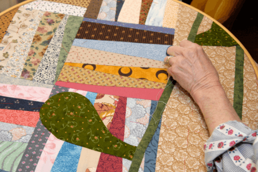 woman quilting quotes about quilting