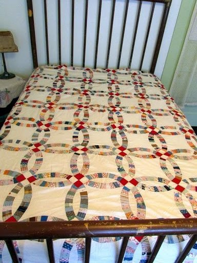 Traditional Vintage DWR quilt