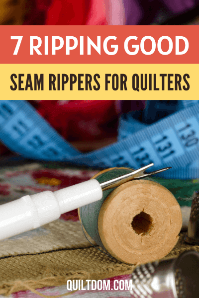 Do you want a ripping tool for your quilts? Check this post as we review 7 of the best seam rippers for quilters available in the market.