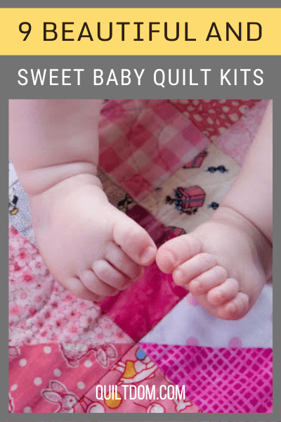 Wanting to create a new quilt for your little bundle of joy? Check out these baby quilt kits you can use to start with your new quilt project.