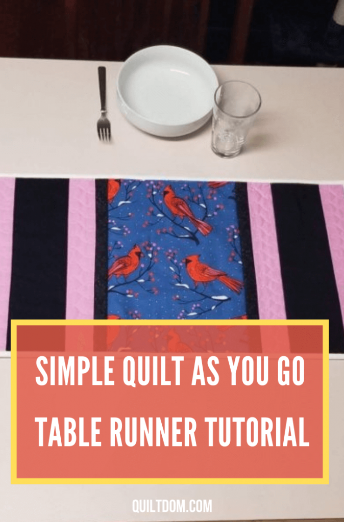 For your next quilting project, why not try making a table runner? Read our simple tutorial of quilt as you go table runner in this post.