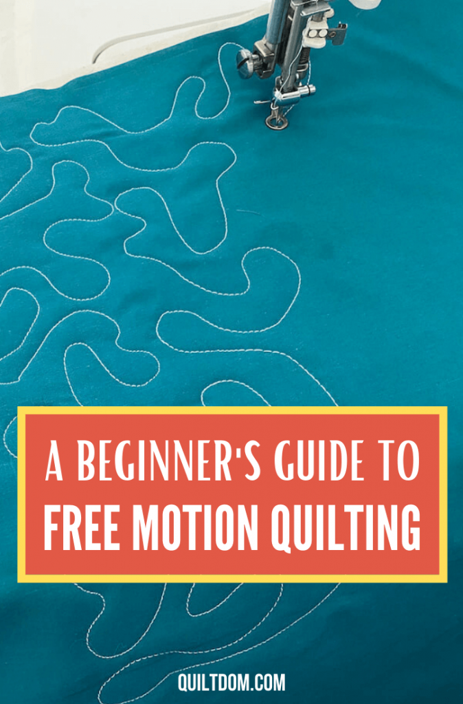Do quilting differently this time. Try and learn how to do FMQ in this post on the free motion quilting tutorial.