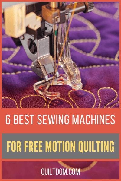 Do you want to have a new sewing machine for FMQ? Check our review on 6 of the best sewing machines for free motion quilting in the market.
