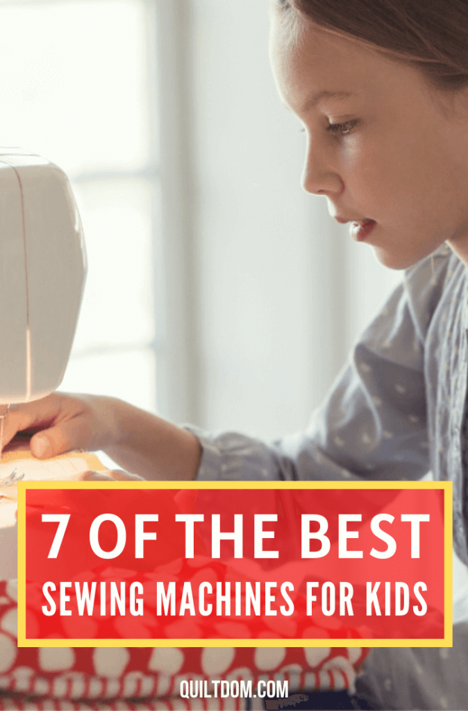 As you quilt, your kids would want to quilt alongside you. We reviewed 7 of the best sewing machines for kids they can use as they quilt with you.