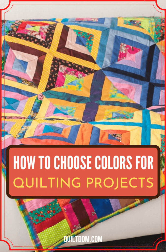 Deciding on what colors to use in a project is a hard decision for most quilters. Read on this post and know how to choose a color for your quilt project.