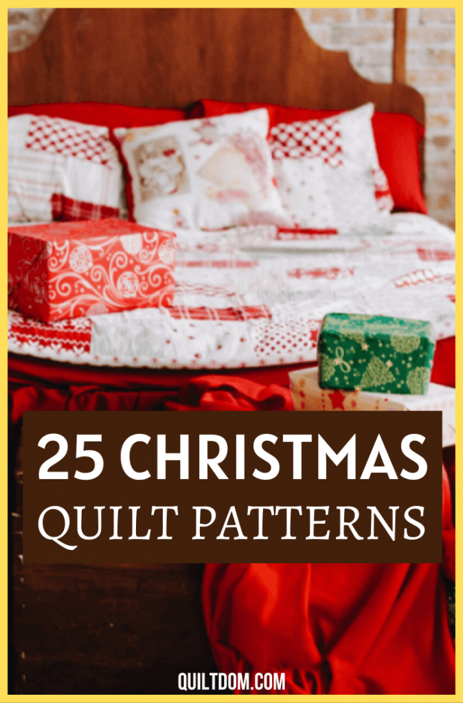 Looking for something to use as a decoration for the holidays? Discover our list of gorgeous Christmas quilt patterns you can try making.