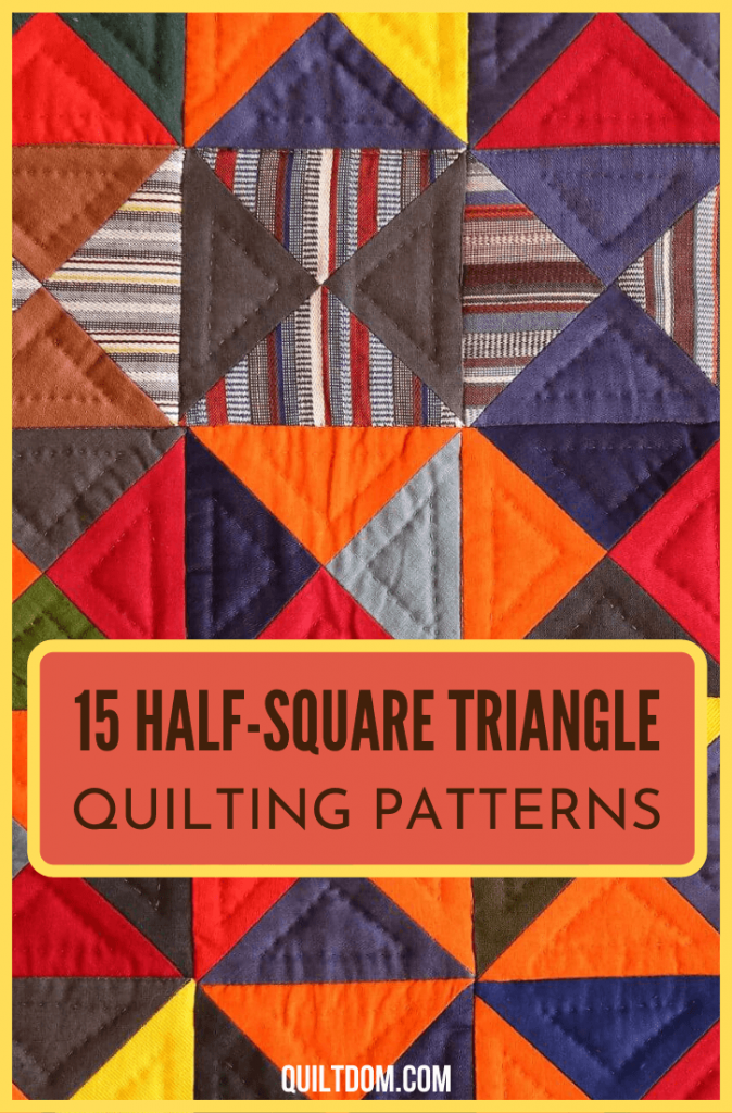 Running out of ideas on what patterns you're gonna do on your next quilting projects? See this collection of half-square triangle quilt patterns and get some ideas for your next piece.
