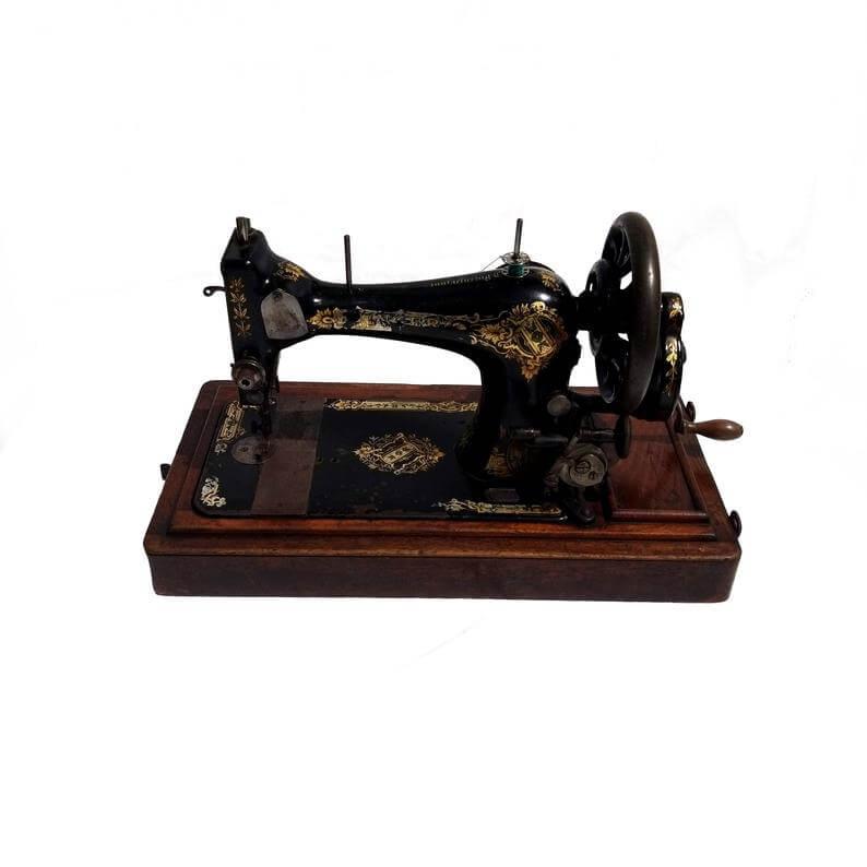 Hand-Operated Sewing Machine