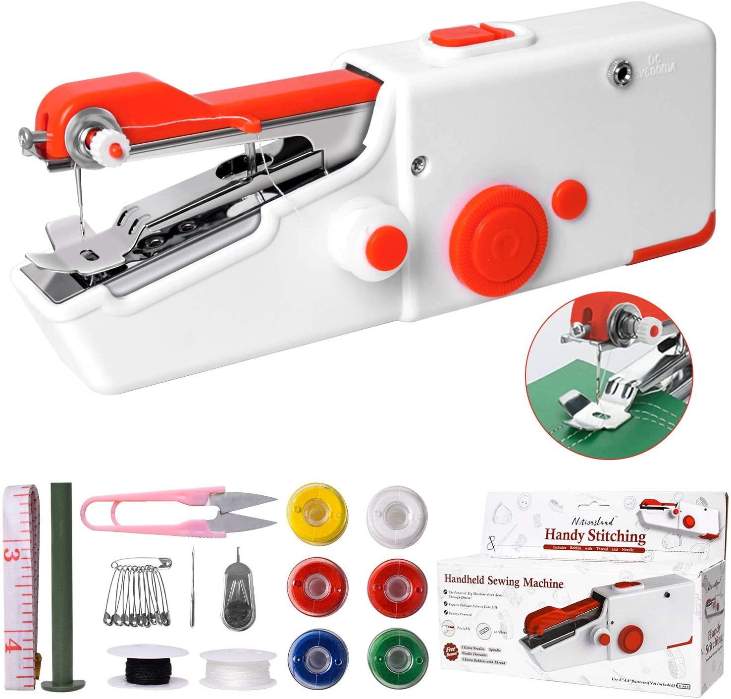 4 Handheld Sewing Machine