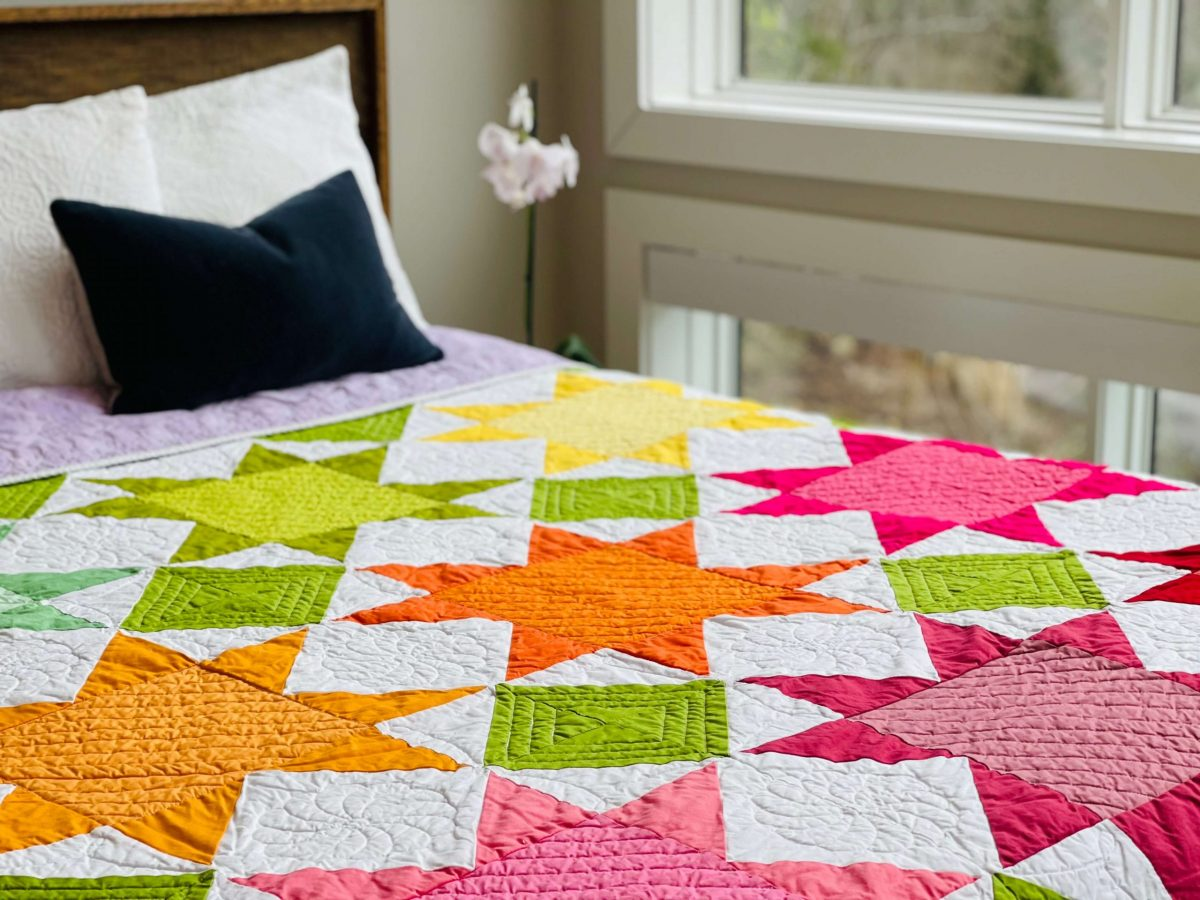 8 Point Star Quilt Pattern