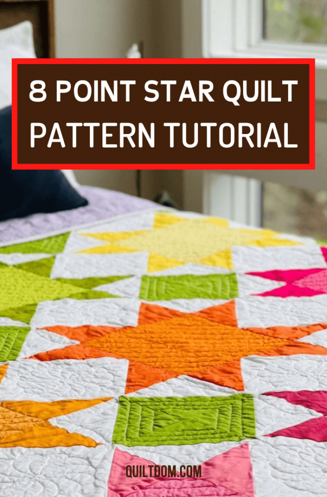 Add something new to your fabric crafts skills by learning the step-by-step method in creating your own 8 point star quilt pattern in this quilting tutorial.