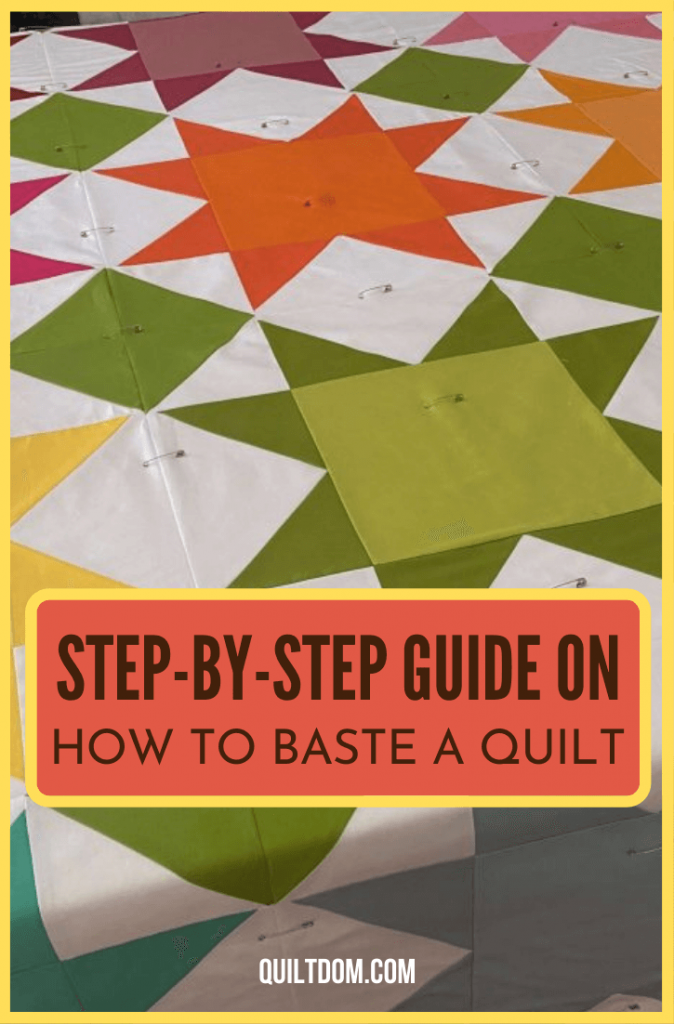 Learn how to baste a quilt in this post. We'll give you tips and tricks that we've learned over the years.