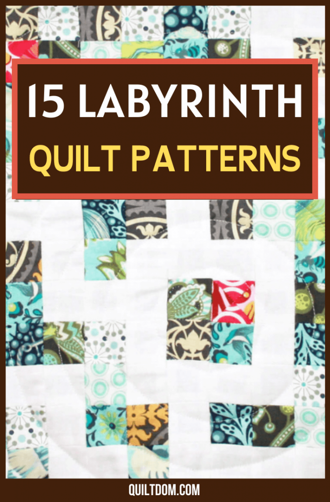 Labyrinth quilt patterns are the new design you should try for your next fabric craft. In this post, you'll get to see 15 free quilt patterns you should definitely try.