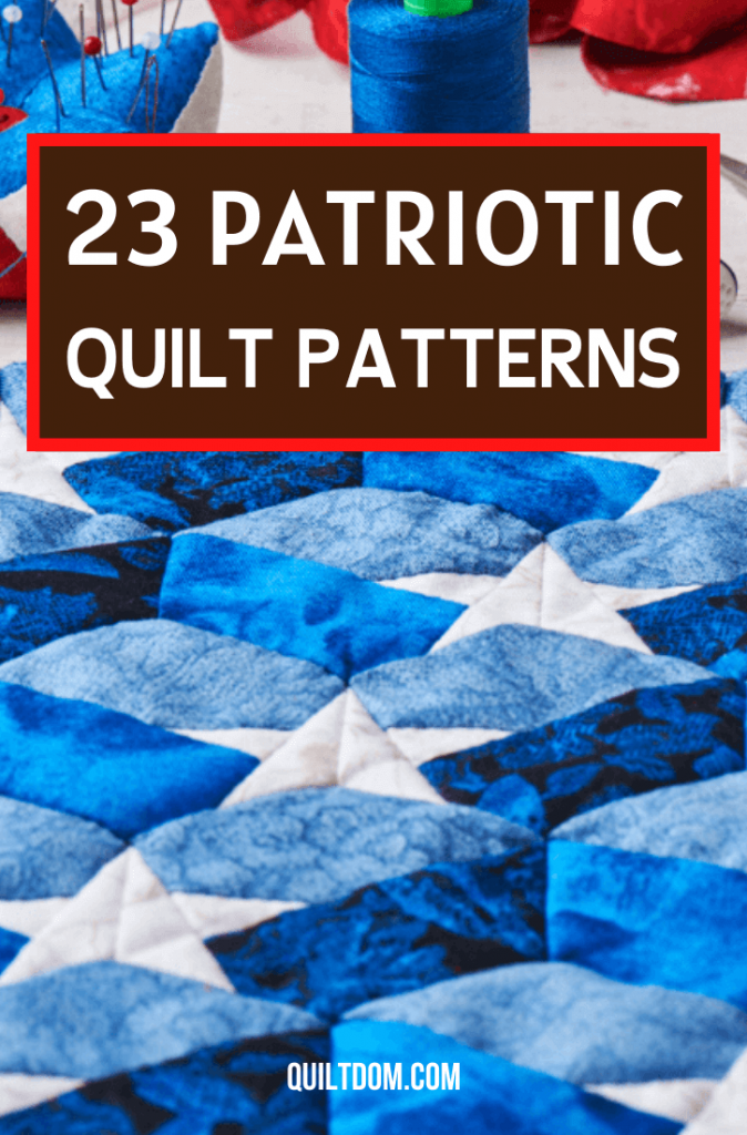 In this post, we've curated 23 Americana quilt pattern ideas to inspire you to embrace the red, white and blue in your next quilt project.