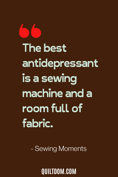 sewing quote by sewing moments