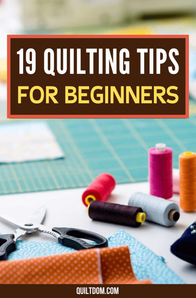 You are interested in creating quilts and other fabric crafts but you are unsure of what you have to keep in mind. Read this post and the best quilting tips for beginners like you.