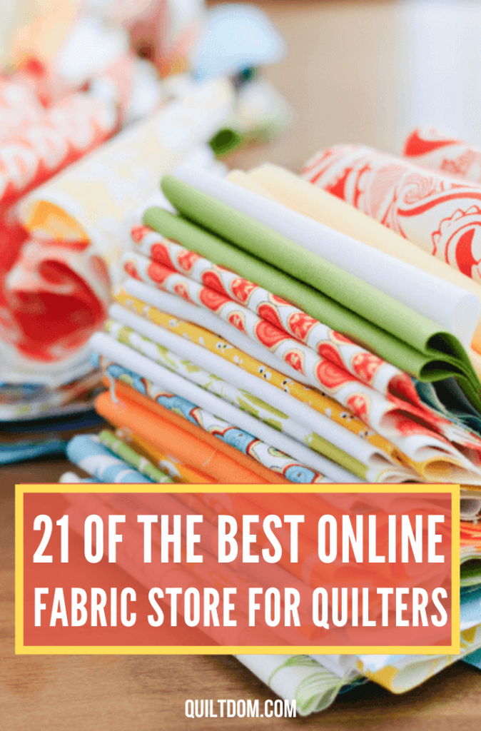 We've done the research and put together 21 of the best online fabric stores. In the post you'll find both U.S. and U.K. stores.