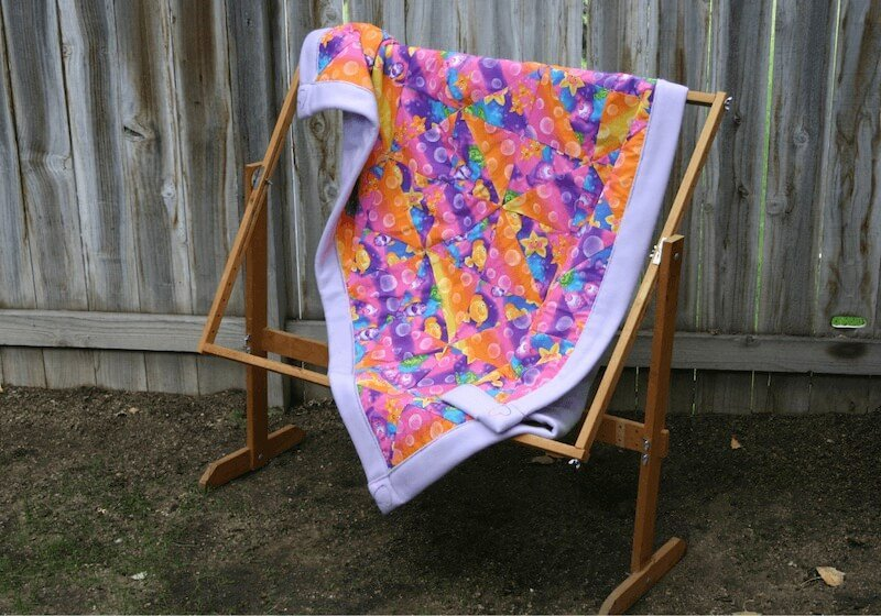 quilt hanging on frame how to make a quilt frame