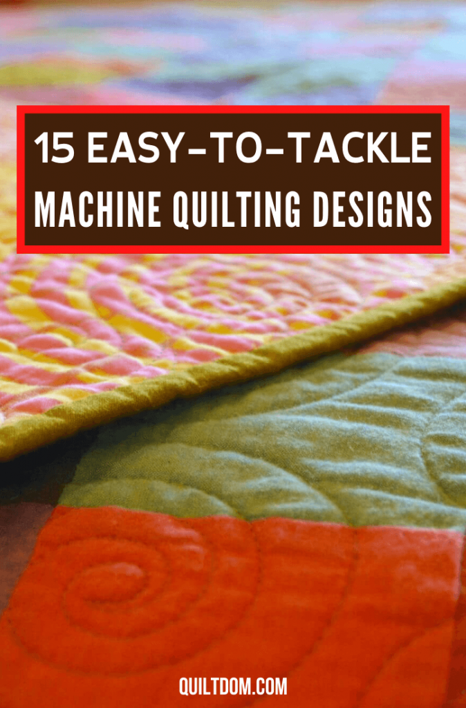 As a beginner, what design to make is a crucial decision. In this post, learn different machine quilting designs for your first fabric craft.