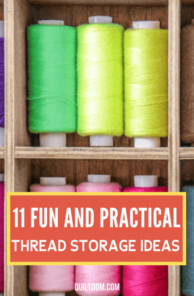 Do you want to organize your threads but can't find any idea how? Check this post and see some DIY thread storage ideas as well as those available in the market.