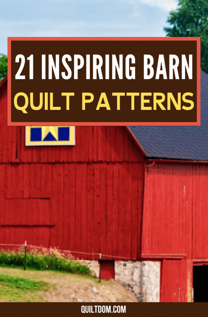 Are you getting bored with your repetitive quilt patterns? See these collection of barn quilt patterns you can check out for free.