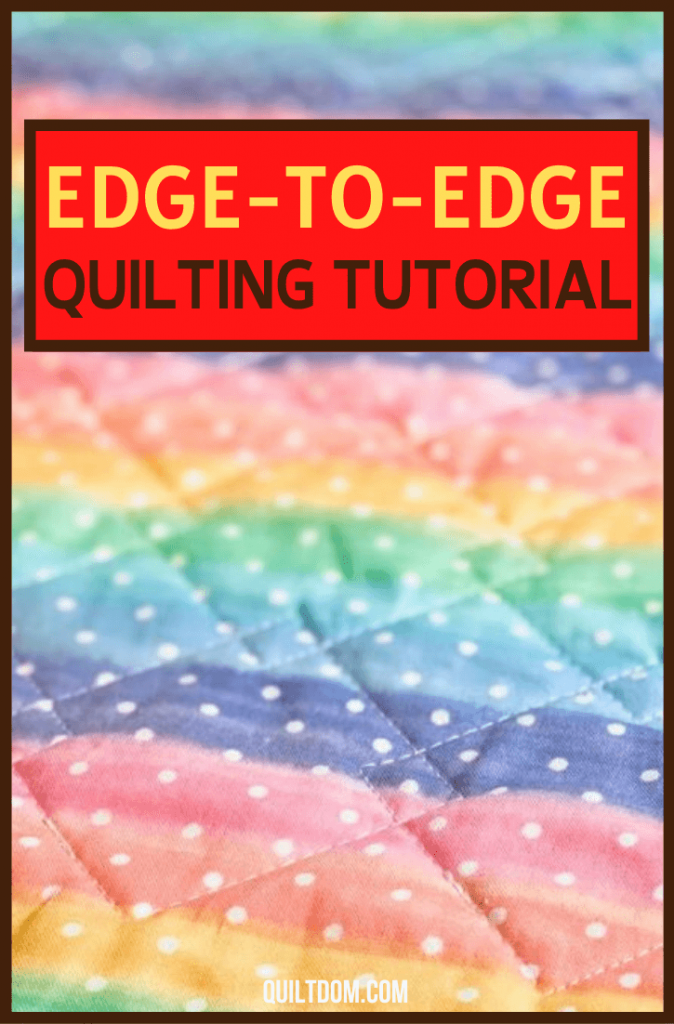 Do you prefer straight-line, edge-to-edge, free motion, or complex custom quilting designs? Learn more from this edge-to-edge quilting tutorial.