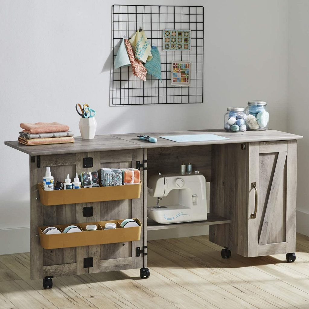 Homelity Folding Sewing Cabinet